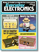 Everyday Electronics, April 1983